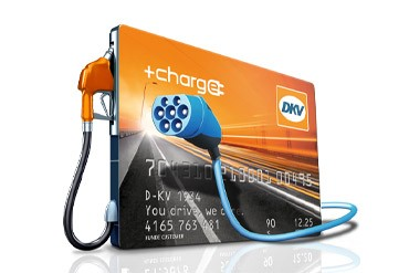 DKV CARD +CHARGE Ladestation